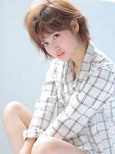 ショート×ナチュラル|allys hair shinsaibashi OPAのヘアスタイル