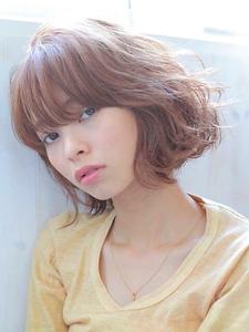 ★あご下ラインの美ブラントボブ★|allys hair shinsaibashi OPAのヘアスタイル