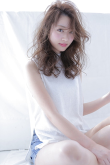 セミディパーマ|allys hair shinsaibashi OPAのヘアスタイル