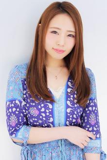 おしとやかに!清楚系ナチュラルストレート|allys hair shinsaibashi OPAのヘアスタイル