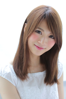女子の憧れ!透明感さらさらナチュラルストレート|allys hair shinsaibashi OPAのヘアスタイル