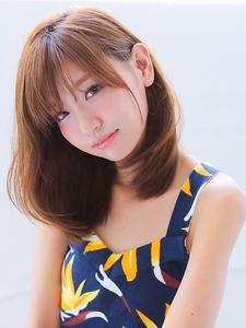 ★カットで決まる!ミディアムヘアー★ allys hair shinsaibashi OPAのヘアスタイル
