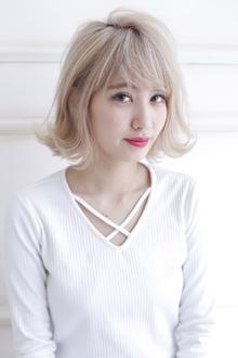ハイトーン×ボブ|allys hair shinsaibashi OPAのヘアスタイル