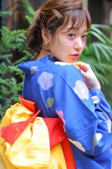 ゆるアレンジ|allys hair shinsaibashi OPAのヘアスタイル