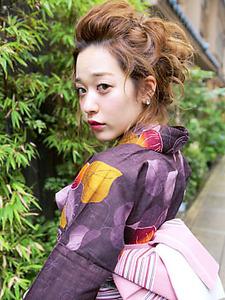 ゆるふわアップ|allys hair shinsaibashi OPAのヘアスタイル