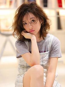 くびれミディ☆セミウェット タンバルモリ VER1☆|allys hair shinsaibashi OPAのヘアスタイル