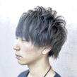 マッシュショート×パールグレー|ALPHA SALIDAのヘアスタイル