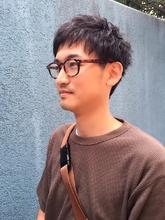 爽やかツーブロックショートヘア|ALPHA SALIDA 池田 恵のメンズヘアスタイル