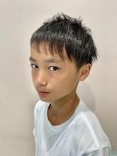 ツーブロック・爽やかアシメショート|ALPHA SALIDA 山口 智子のメンズヘアスタイル