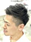 清潔感◎ネープレスツーブロックショート|ALPHA SALIDAのヘアスタイル
