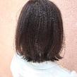 ボブ×ダークアッシュ|ALPHA SALIDAのヘアスタイル