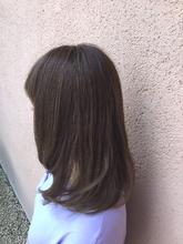 ミルキーピンクカラー ALPHA SALIDA 外谷 靖のヘアスタイル