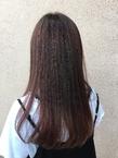 ナチュラルピンクグラデーションカラー|ALPHA SALIDAのヘアスタイル