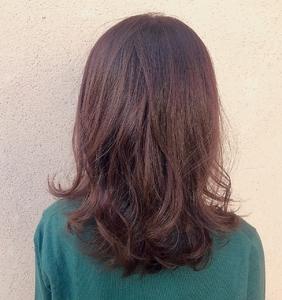 ラベージュ×グラデーション|ALPHA SALIDAのヘアスタイル
