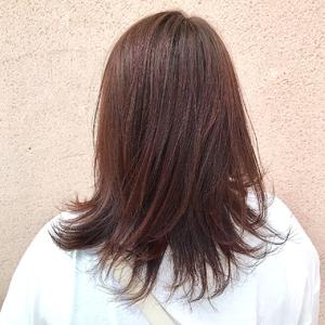 ブラッドオレンジ ALPHA SALIDAのヘアスタイル