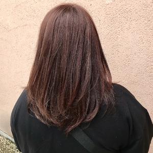 ヴィンテージカラー×ラベンダーブラウン|ALPHA SALIDAのヘアスタイル