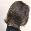 切りっぱなし×ハイライト ALPHA SALIDAのヘアスタイル