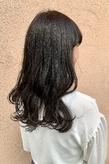 暗髪×スモークグレー|ALPHA SALIDAのヘアスタイル