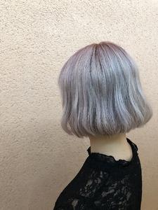 【透明感】わたあめボブ|ALPHA SALIDAのヘアスタイル