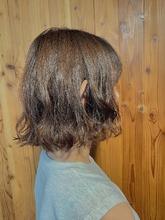 大人可愛いふんわりボブ ALPHA SALIDA 山口 智子のヘアスタイル