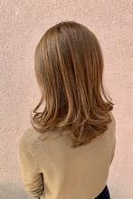 大人カワイイベージュハイライト!|ALPHA SALIDAのヘアスタイル