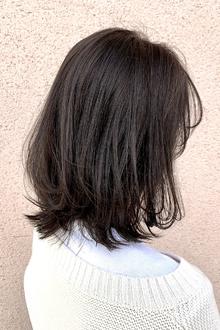 透明感ダークグレージュ|ALPHA SALIDAのヘアスタイル