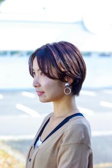 小顔ハンサムショート|ALPHA SALIDAのヘアスタイル