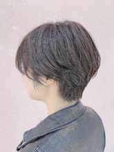 透明感カラー大人ショート|ALPHA SALIDAのヘアスタイル