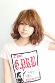 ☆フェザーミディ☆ hair lounge an rioのヘアスタイル