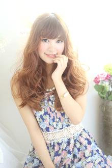 ☆春夏ほつれウエーブで魅せるラフ気分☆|hair lounge an rioのヘアスタイル