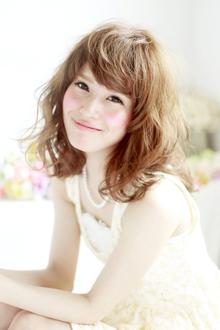 ☆夏だって甘めに攻めちゃう☆ hair lounge an rioのヘアスタイル