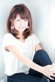 ☆やさしいフォルムで美女度アップ☆|hair lounge an rioのヘアスタイル