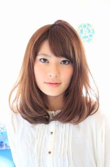 ☆スリークミディ☆|hair lounge an rioのヘアスタイル