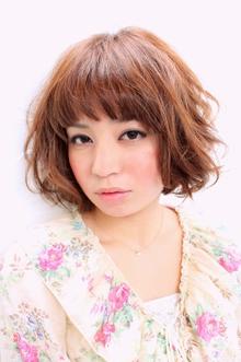 ☆無造作カールボブ☆ hair lounge an rioのヘアスタイル