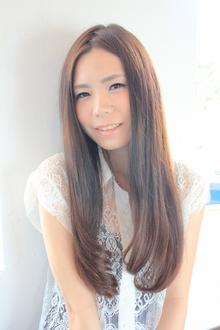 ☆シルキーストレート☆ hair lounge an rioのヘアスタイル