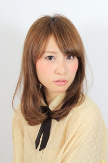 ☆スリークミディ☆ hair lounge an rioのヘアスタイル