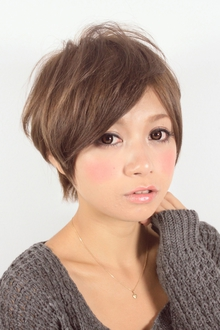 ☆ミニマムフォルムショート☆ hair lounge an rioのヘアスタイル