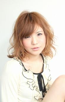 ☆ラフリッジカール☆|hair lounge an rioのヘアスタイル