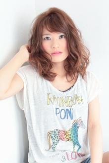 ☆フラワーミディ☆|hair lounge an rioのヘアスタイル