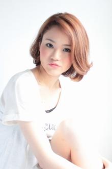 ☆ウェービーボブ☆|hair lounge an rioのヘアスタイル