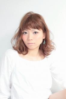☆甘ぼさセミディ☆|hair lounge an rioのヘアスタイル