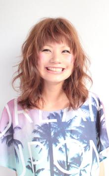 ☆フェザーミディ☆|hair lounge an rioのヘアスタイル