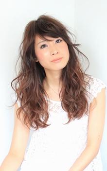 ☆グラゆれロング☆ hair lounge an rioのヘアスタイル