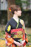 シンプルな日本髪の装いで!