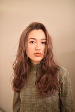 くせ毛風ロングスタイル|Hair&Make apis 北千束、大岡山、旗の台、洗足池、長原のヘアスタイル