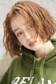 くせ毛風ニュアンスボブ|Hair&Make apis 北千束、大岡山、旗の台、洗足池、長原のヘアスタイル