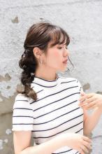 三つ編み編みおろし|Hair&Make apis 北千束、大岡山、旗の台、洗足池、長原のヘアスタイル