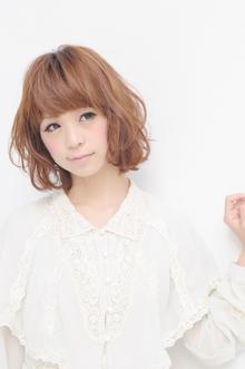 ふわゆるが可愛い☆|apish ginZaのヘアスタイル
