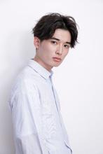 柔らかな毛先のツーブロック風ショートマッシュ|JENO 松田 亮葉のメンズヘアスタイル