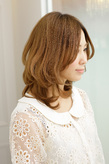 素髪に改善され自由にスタイリングできる再現性アップのヘア